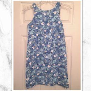 Other - Cute Blue sleeveless dress!